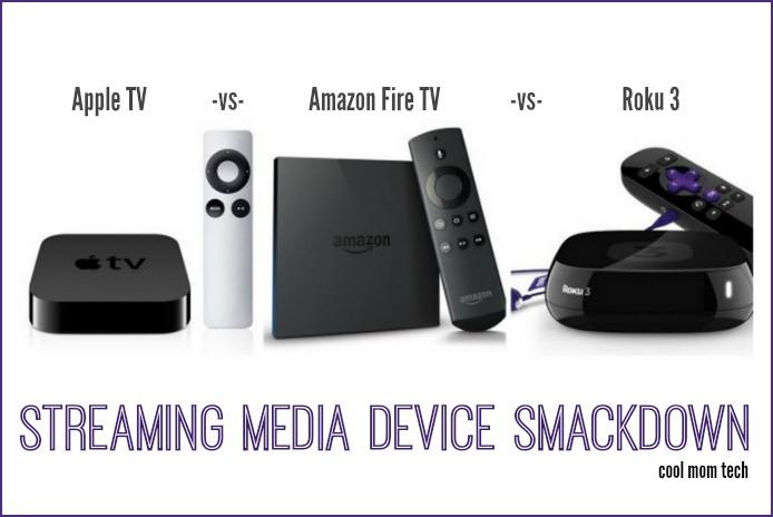 Apple TV vs Roku vs Amazon Fire TV:  A triple streaming media device smackdown
