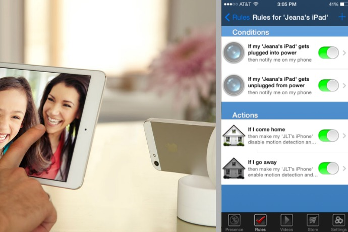 Got an old iOS device lying around? The Presence app turns it into a home security system, free.