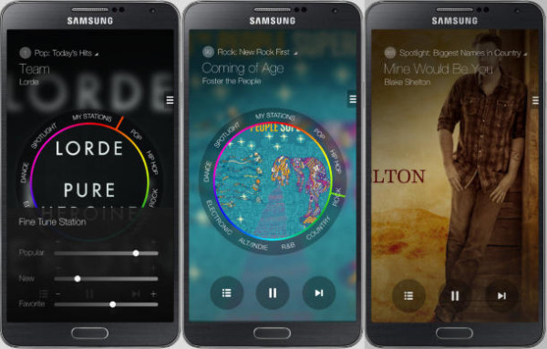 Samsung Milk Music app | Cool Mom Tech