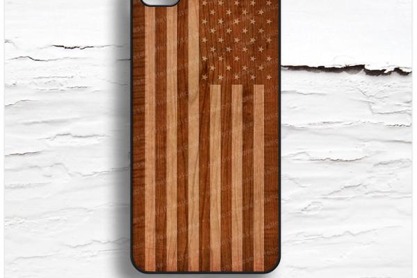 Retro Flag iPhone Case
