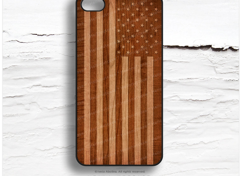 Retro Flag iPhone Case
