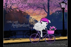 Little Lamb in Amsterdam: Take a ride through Holland with this lovely ebook and travel guide for kids