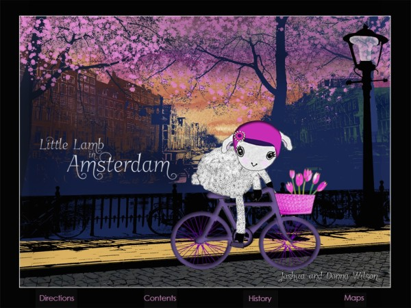 Little Lamb in Amsterdam app | Cool Mom Tech