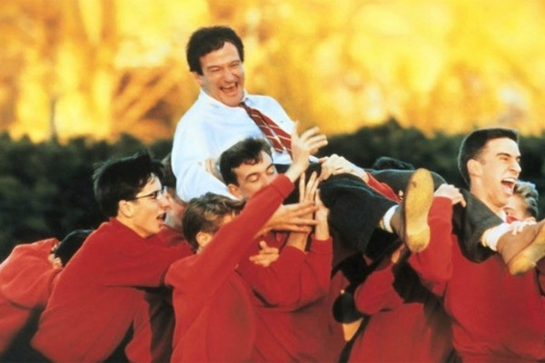Our favorite Robin Williams movie clips at coolmomtech.com | Dead Poet's Society