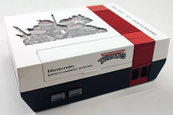 Custom Teenage Mutant Ninja Turtle NES