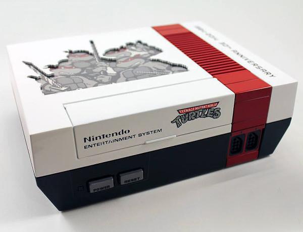 Custom Teenage Mutant Ninja Turtle NES