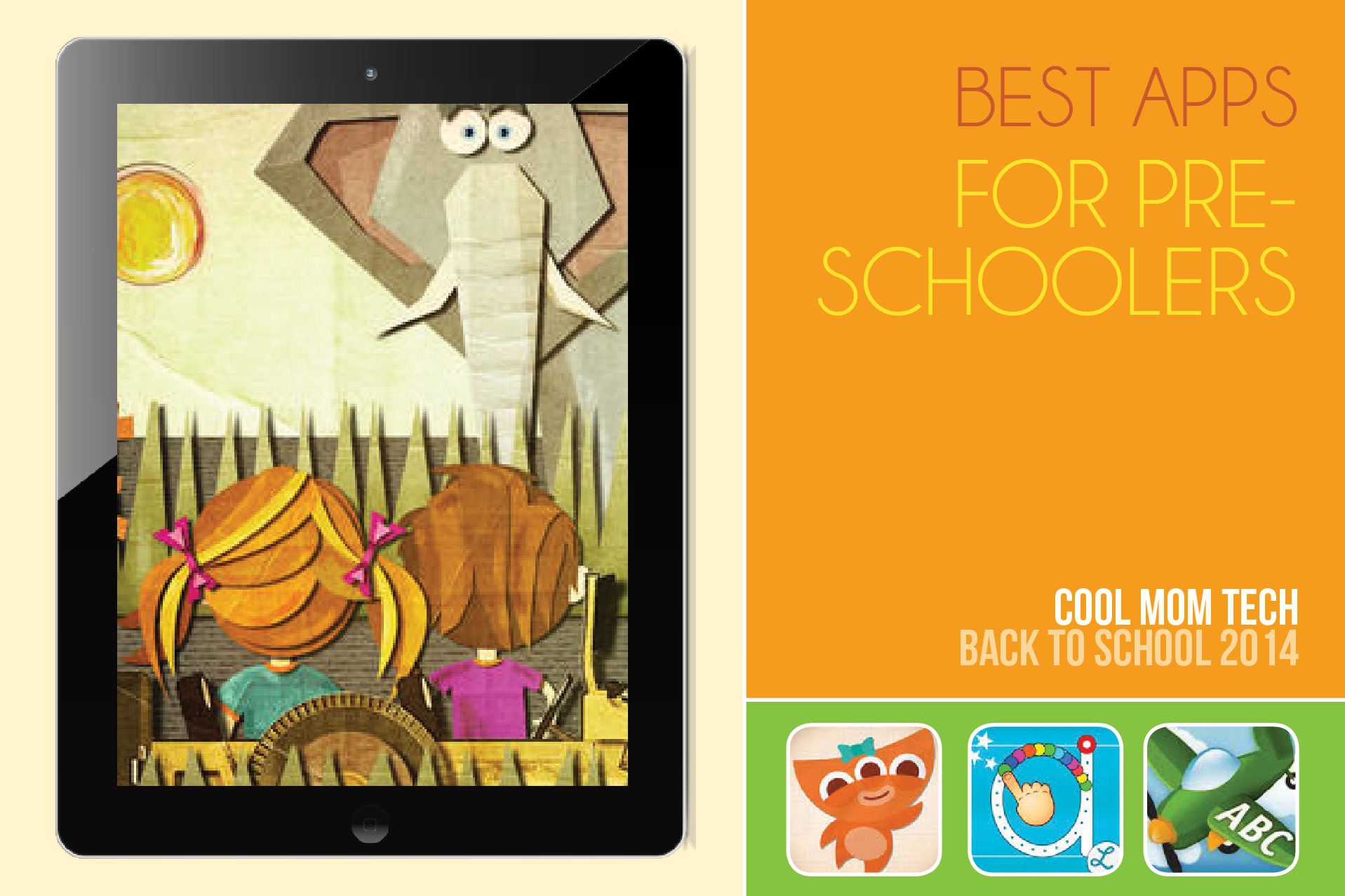 12 of the best educational apps for preschoolers: Back to School Tech Guide 2014