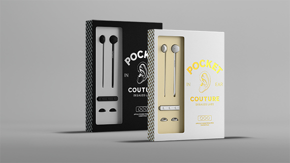 Pocket Headphones: Affordable earbuds by Degauss Labs