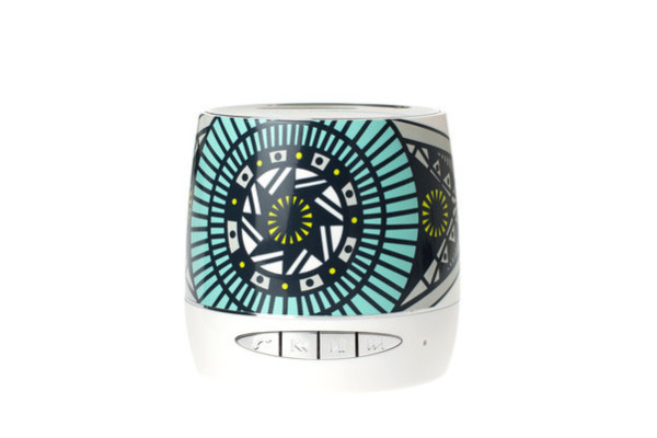 Fab Bluetooth speaker with artwork from Brian Farrell
