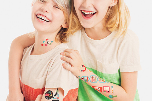 Tattly Science temporary tattoos |CoolMomTech.com