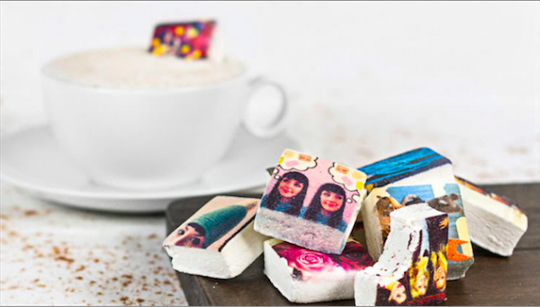 Boomf marshmallows | Cool photo gift using your Instagram photos