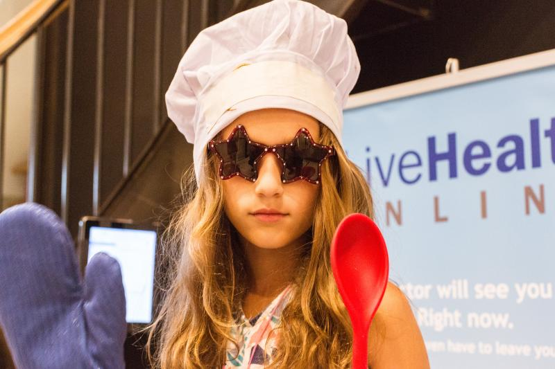 Eat It and Like It! family brunch event with Cool Mom Picks and LiveHealth Online