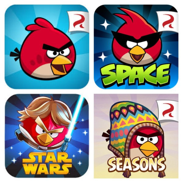 Angry Birds bundle on App Store | Cool Mom Tech