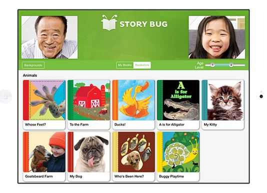 Story Bug app lets you read stories together when you're not even in the same room or city