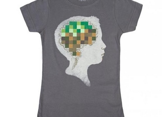 Minecraft shirt for kids by Threadless on Cool Mom Tech