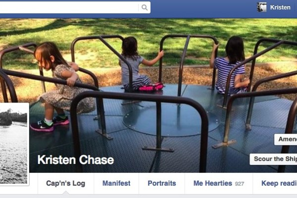 How to change your Facebook page for Talk Like a Pirate Day on Cool Mom Tech