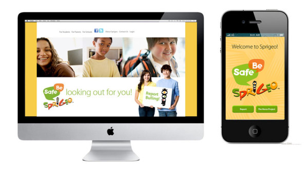 Sprigeo helps students report bullying safely and anonymously