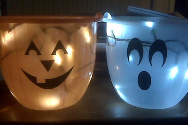 DIY tech: Easy Halloween LED Bucket tutorial