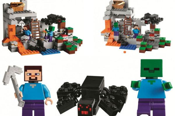 Minecraft LEGO sets on CoolMomTech.com