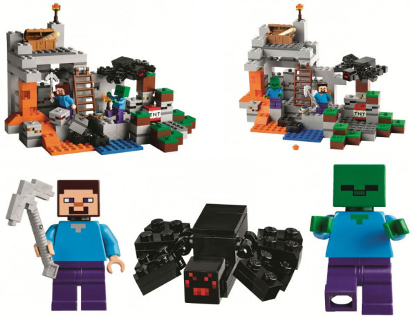 Minecraft LEGO sets on CoolMomTech.com