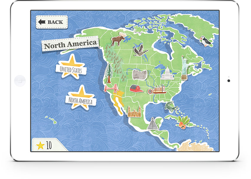 The best apps for kids of the year: Amazing World Atlas app
