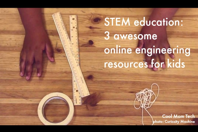 STEM education: 3 of the best online engineering resources for kids