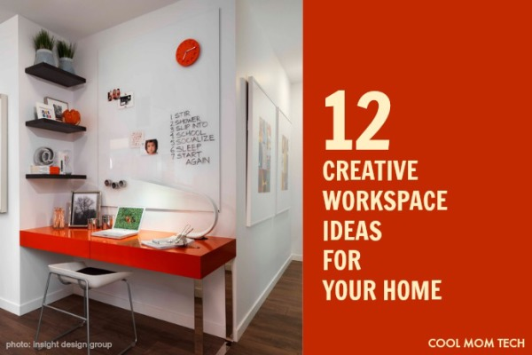 12 creative workspace ideas for your home | coolmomtech.com