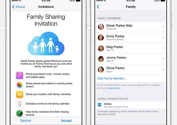 new iOS Family sharing - saving you a ton of money if you have multiple iOS users at home