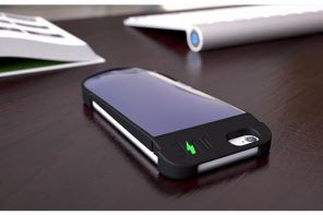 Juse: The solar powered mobile phone charging case we've all been waiting for.