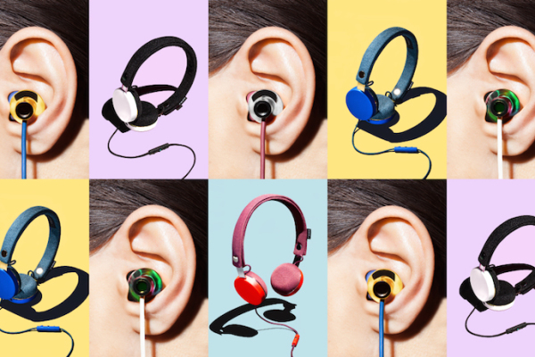 Marc by Marc Jacob Urban Ears headphones