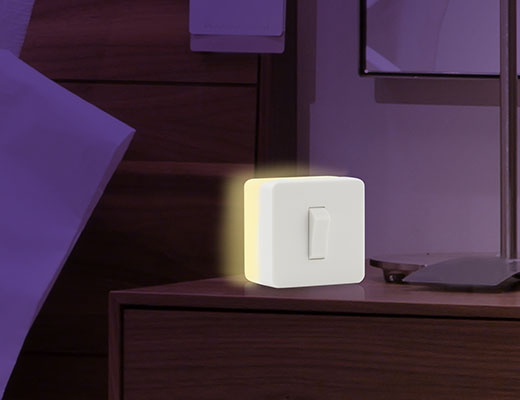 Ilmo Ahn designed night light switch for Kikkerland
