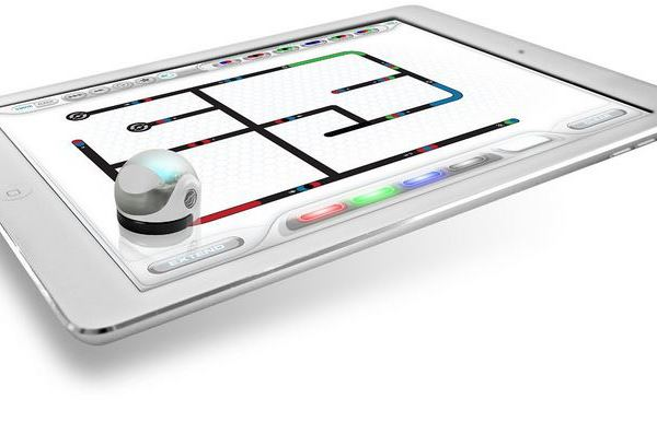 The Ozobot smart robot plays on your tablet or even a plain piece of paper