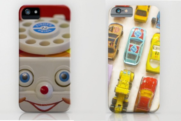 Cool retro toy iPhone cases on Society 6