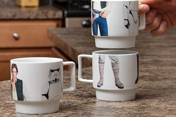 Star Wars stackable mugs set