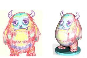 Kids Creation Station transforms your kids' artwork through 3D printing