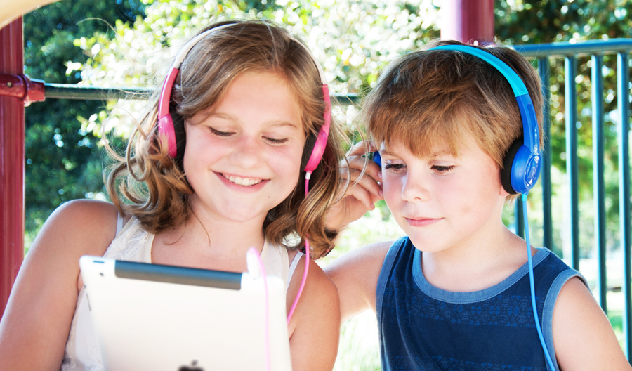 KidJamz headphones for kids: Great for kids who still want to have their hearing when they're our age.