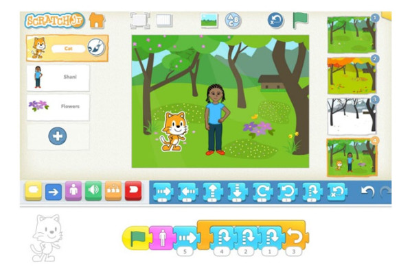 Coding for kids: The ScratchJr iPad app