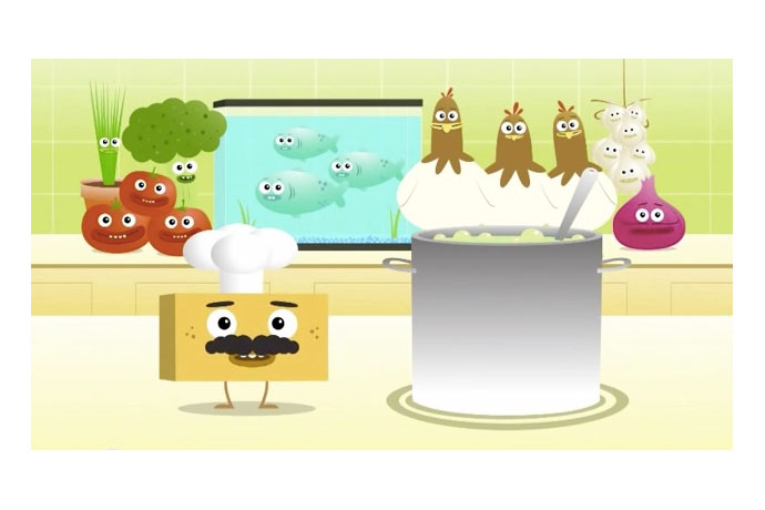 YouTube videos for kids: Big Block Sing Song's Chef