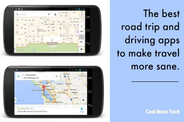 Best road trip apps and travel apps to keep driving more sane