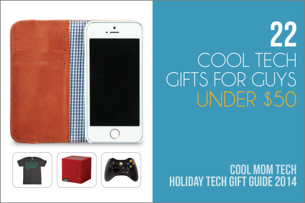Holiday Tech Gifts | 22 cool gift ideas for guys all under $50 | Cool Mom Tech