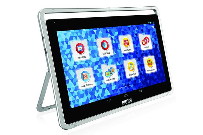 The nabi Big Tab HD: a kids' tablet where size does matter