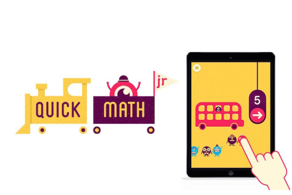 Fun math app for kids: Quick Math Jr