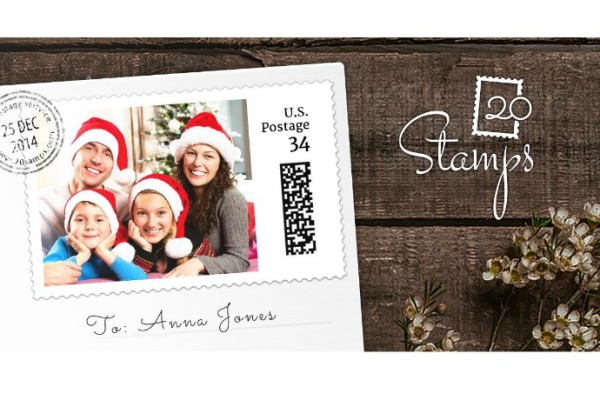 20Stamps: Customized photo stamps