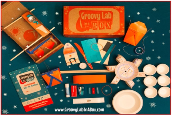 The Groovy Lab in a Box is an awesome last-minute gift for kids