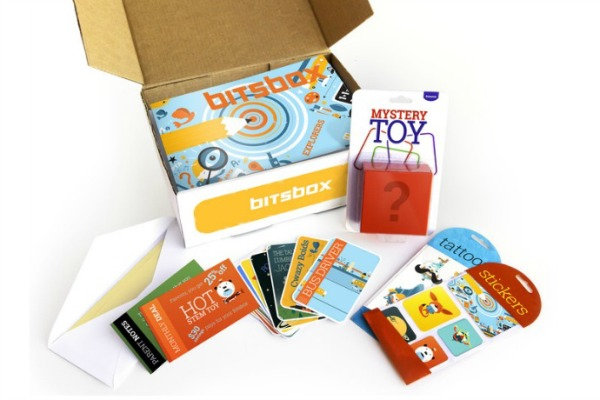 Bitsbox monthly subscription box: Coding projects for kids