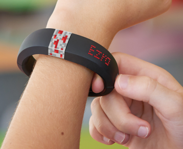 Gameband + Minecraft: New wearable tech for kids that lets them create and save worlds on the go