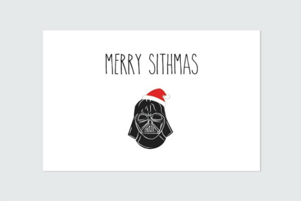 Geeky holiday cards that you can still get in time for Christmas