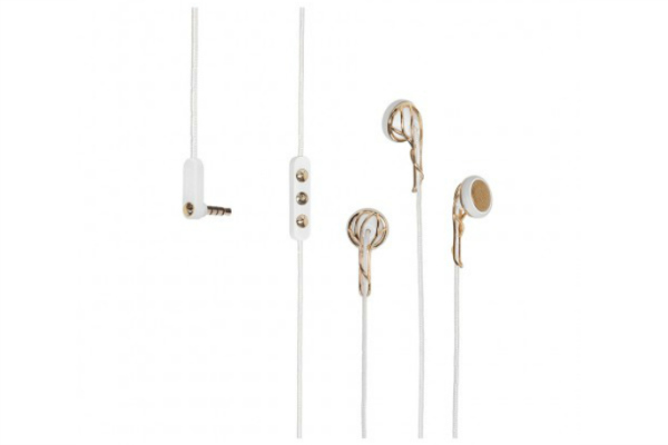 Rose gold earbuds by Frends are the perfect holiday gift for the stylish gadget lover