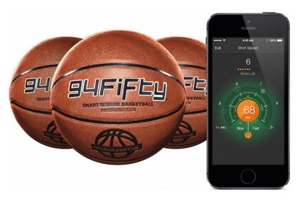 The 94Fifty Smart Sensor Basketball is a genius way to track your game and get better