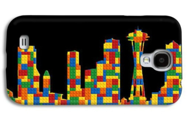 AndrewFare Seattle skyline smartphone case